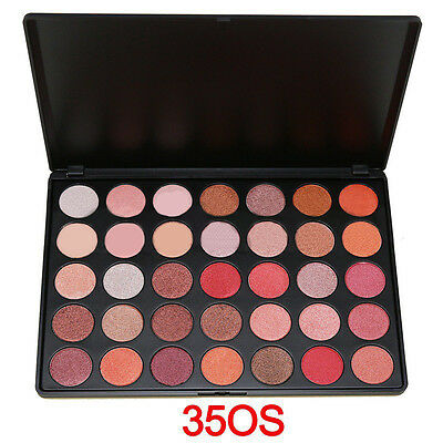 35 colour Warm Pigment Eyeshadow Palette Makeup Matte and Shimmer Eye Shadow SET