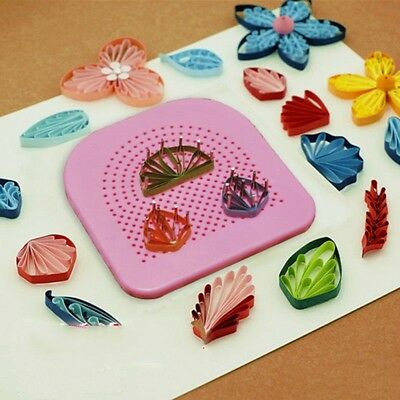 Handmade DIY Paper Quilling Kit Paper Crafting Folding Craft Quilling Board