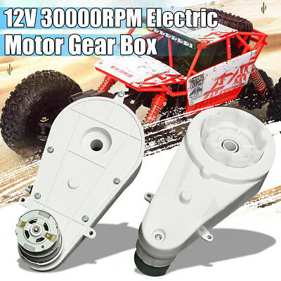 2PCS 12V 30000RPM Electric Motor Gear Box For Kids Bike Bicycle Ride On Car Toy