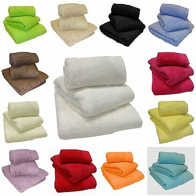 600GSM Super Soft Chatsworth 100% Egyptian Cotton Bathroom Towels - 19 x Colours