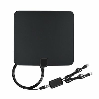 1080P Indoor Digital TV HDTV Amplified Antenna HD 50 Miles Range