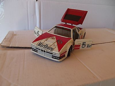 BMW M1 Rally Malboro scala 1:24 made in Italy vintage