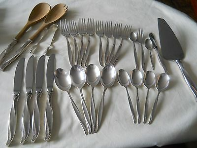 International Sterling Pine Spray Flatware Set For Four