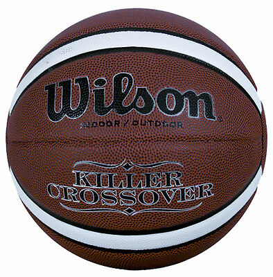 Wilson Killer Crossover Basketball 111 Indoor/outdoor Game Leather Ball Size 7