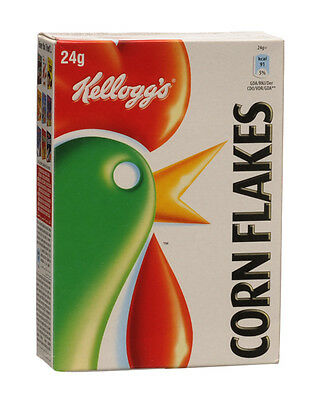Kellogg's Corn Flakes, 24g Pack (Case Of 24)