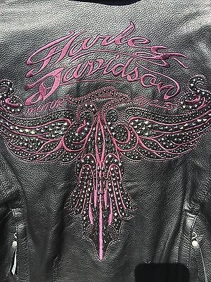 Harley Davidson Starwood Eagle  Leather 97022-15VW size small see photos!!!!