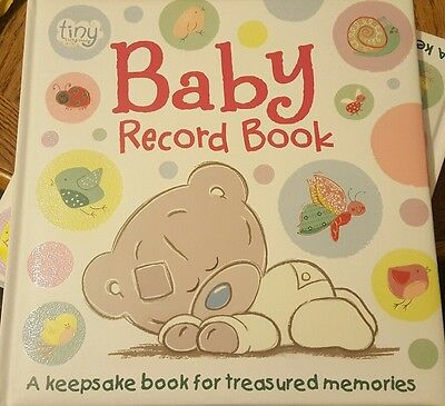 me to you tiny tatty teddy baby record book