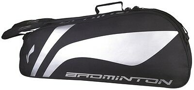 Li-Ning Badminton Racquet Storage Holdall Two Compartment 6 Racket Thermo Bag