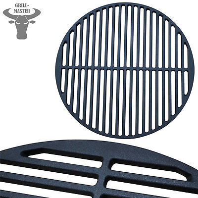Cast Iron Enamelled BBQ Grate Grid Grill Barbeque Plate Pan Ø 45 Grillmaster