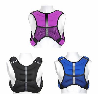 Weighted 5 Kg Vest Weight Loss Jacket Training Running Vest Loss Gym Fitness