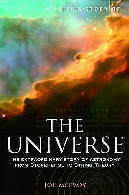 A Brief History of the Universe, J P McEvoy, Book, New Paperback