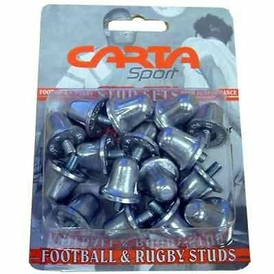 Rugby League Sports Shoes Replacement Aluminium Studs 21Mm (Pack Of 16)