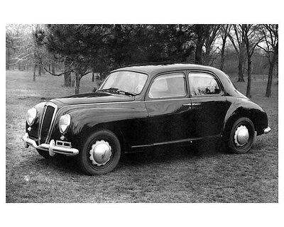 1954 Lancia Aurelia 4 Door Sedan Willys Spy Photo ORIGINAL Factory Photo oua9606