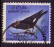 Ceylon Birds 1v Cancelled SG#485 MI#340