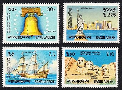 Bangladesh Bicentenary of American Revolution 4v SG#80/83