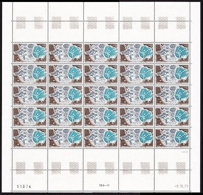 FSAT TAAF Kerguelen Satellite 1v Full Sheet SG#143 MI#144 CV£50+