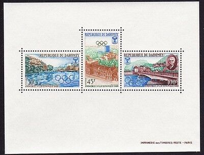 Dahomey Winter Olympic Games Grenoble MS SG#MS306 SC#243a