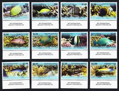 Penrhyn Fish Definitives Part 2 12v with Bottom margins SC#521-32