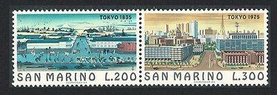 San Marino Important Cities of the World 2nd series Tokyo 2v Horizontal pair