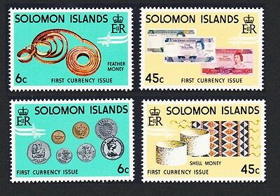Solomon Is. New Coins and Banknotes 4v SG#349/52 SC#360-363