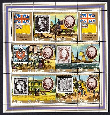 Niue Death Centenary of Sir Rowland Hill MS SG#MS294 SC#245a