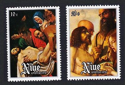 Niue Easter issue 1978 2v SG#241/42 SC#219-20