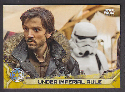 Topps Star Wars - Rogue One Series 2 - # 16 Gold Squadron Parallel 16/50