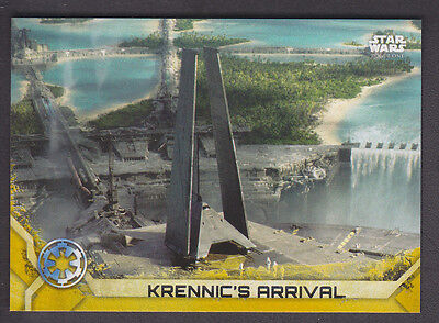 Topps Star Wars - Rogue One Series 2 - # 54 Gold Squadron Parallel 21/50