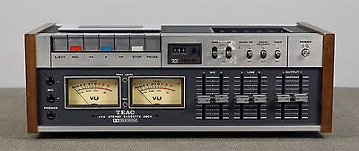 Teac Model A-450 Cassette Deck, For Repair or Parts