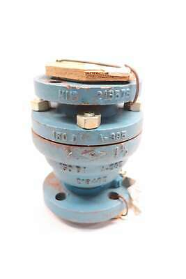 Dow 0221565 1-1/2 In Iron Flanged Pp 150 Di V Check Valve
