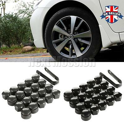 x20 Wheel Nut Caps Bolt Covers Audi VW Vauxhall Bmw Mercedes Renault 17mm