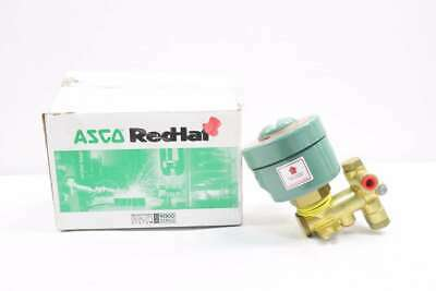 Asco 2126312G Red-hat 250v-dc 1/4 In Npt Solenoid Valve