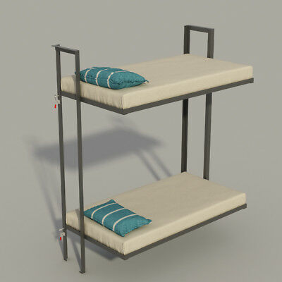 Build your own Folding Bunk bed (DIY Plans) Fun to build!!