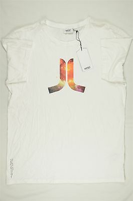 WeSC Superlatiave Conspiracy Icon Flag Tee Mens Slim Fit Red T-Shirt New NWe