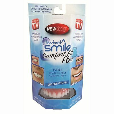ORIGINAL FLEXIBLE ULTRA THIN PERFECT INSTANT SMILE TEETH veneer cosmetic denture