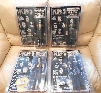 """KISS ** 12"""" inch ACTION FIGURES SERIES #2 complete set ** 2012' Catalog SEALED"""