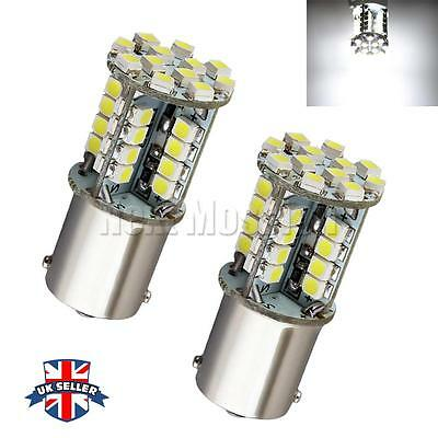 P21W 382 BA15S 44 1156 LED 1210 SMD CANBUS ERROR FREE WHITE TAIL SIDE light UK