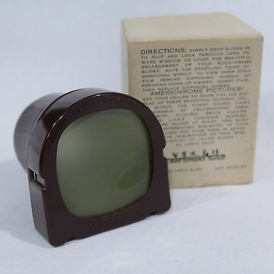 Vintage Craftsmen's Guild Hollywood ~ Kodachrome Slide Viewer ~ Los Angeles