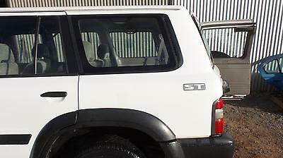Nissan Patrol Left Rear Side Glass Y61/gu, Fixed, 12/97-07/07 97 98 99 00 01 0