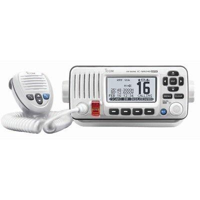IC-M424G 22 - Icom M424G Fixed Mount VHF Marine Transceiver w/Built-In GPS - Sup