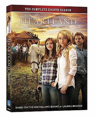 Heartland:The Complete Eighth Season 8 (DVD, 2015, 5-Disc) Brand New & Sealed!!