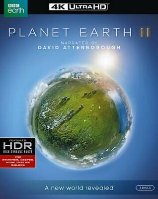 Planet Earth Ii New 4K Ultra Hd Blu-Ray