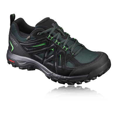 Salomon Evasion 2 Mens Black Gore Tex Waterproof Walking Trekking Shoes