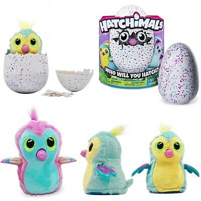 Hatchimals Draggles - Interactive Pet Draggles Yellow/Pink Egg Easter Gift+ Box