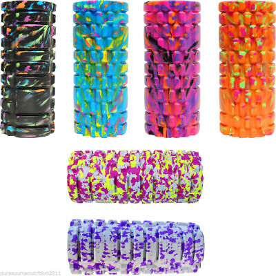 Foam Roller Yoga Pilates High Density 34cm Trigger Point Physic Massage Grid GYM