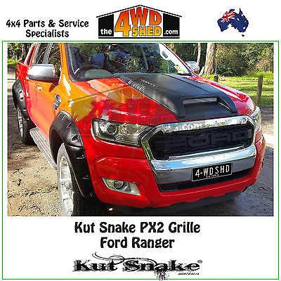 Kut Snake Ford Ranger PX2 MK2 Grille Direct Replacement Grill