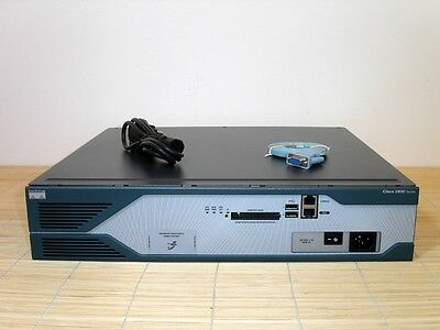 Cisco 2851 Integrated Services Router ISR 256MB RAM 64Flash