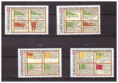 s15630) SMOM 1977  MNH** Bandiere Flags 4v