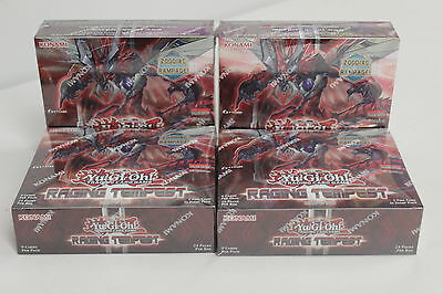 Yu-Gi-Oh! Raging Tempest Booster Box 1st edition Sealed New