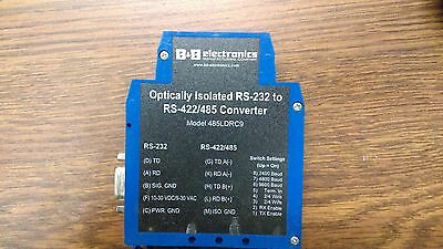 B&b Electronics Optically Isolated Rs-232 To Rs-422/485 Converter Model 485Ldrc9